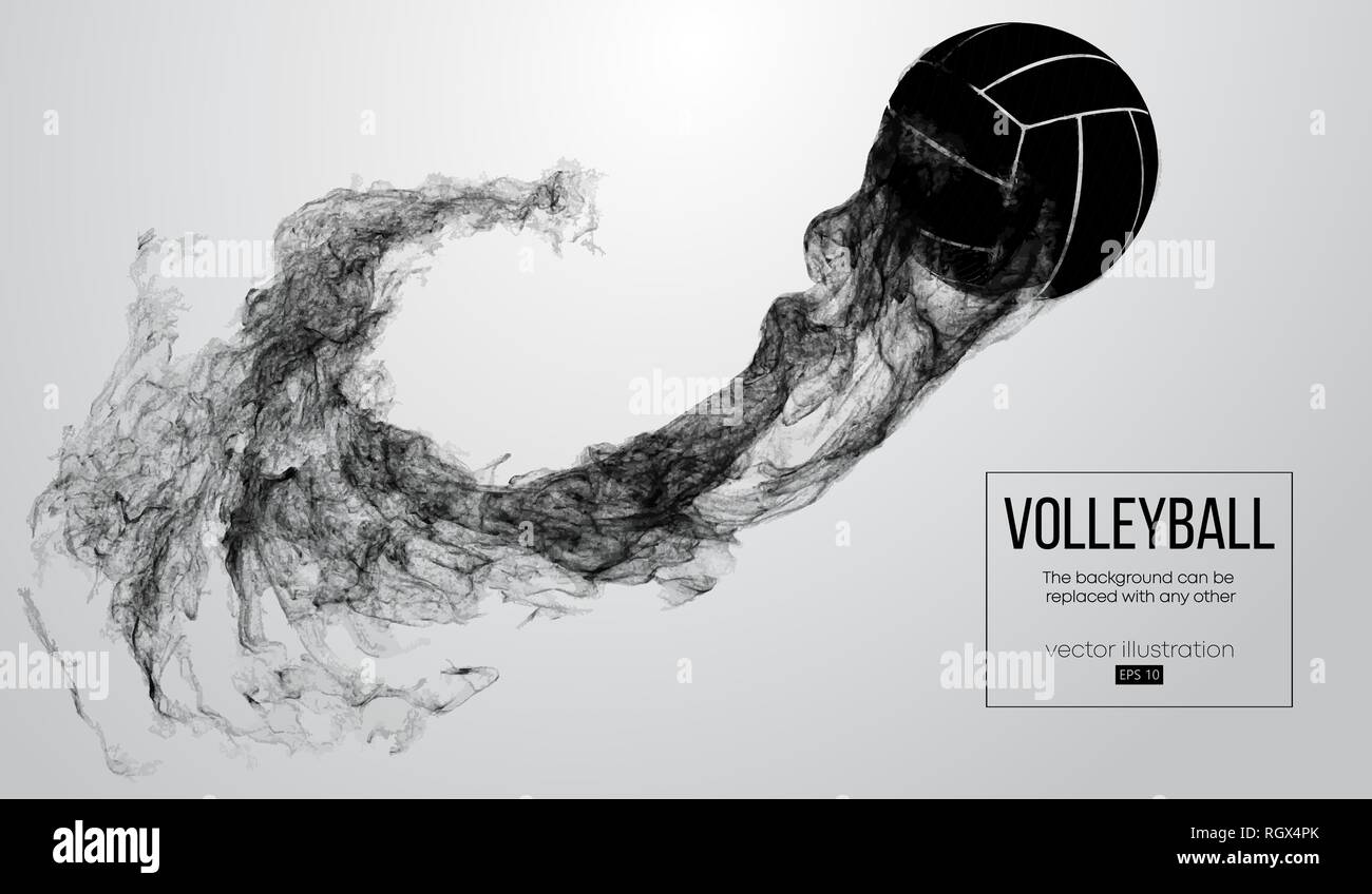 Abstract Triangle Volleyball Player Silhouette Stock: Woman Beach Volley Ball Stock Photos & Woman Beach Volley