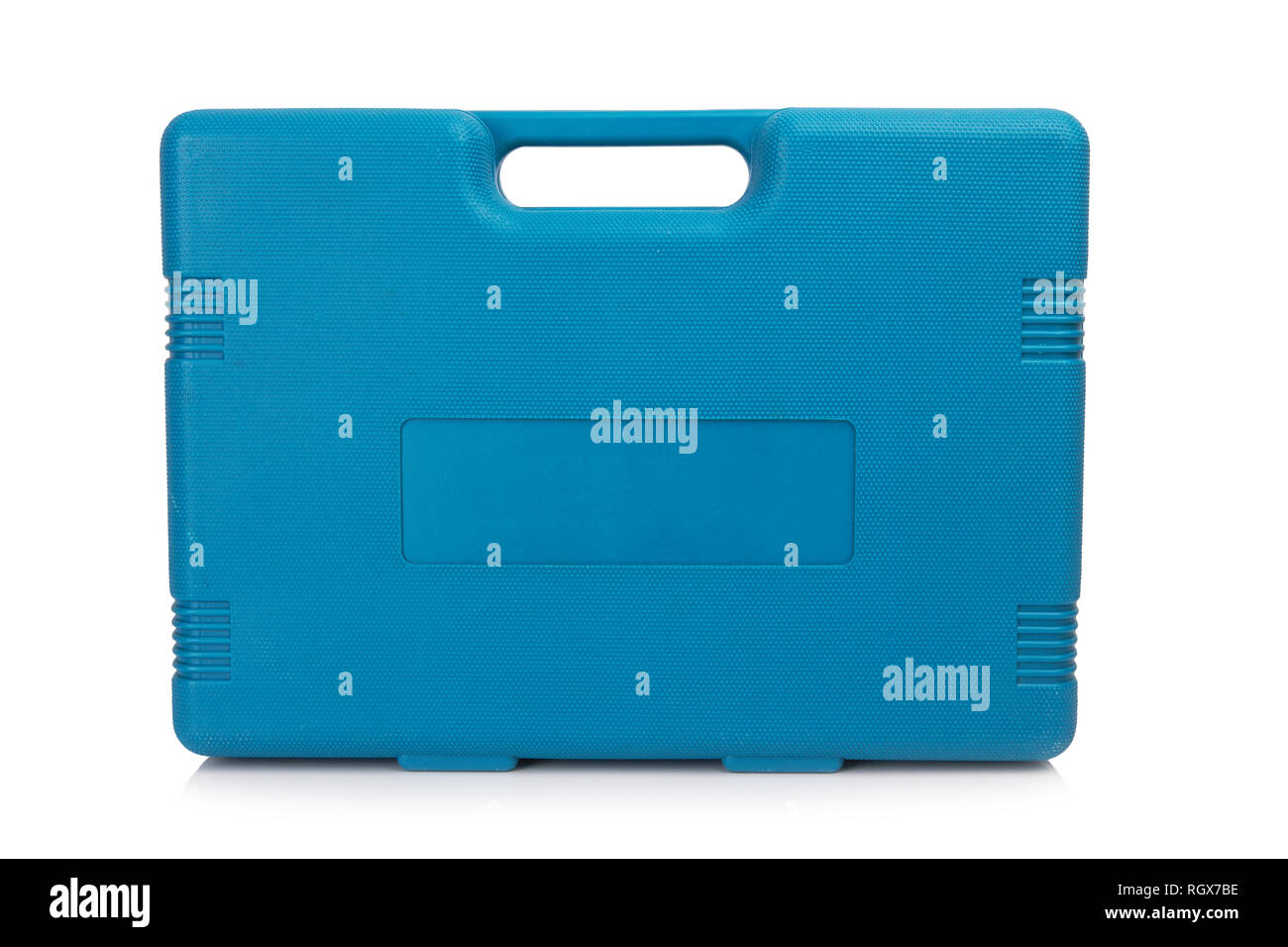 Tool box isolated on a white background - Stock Image