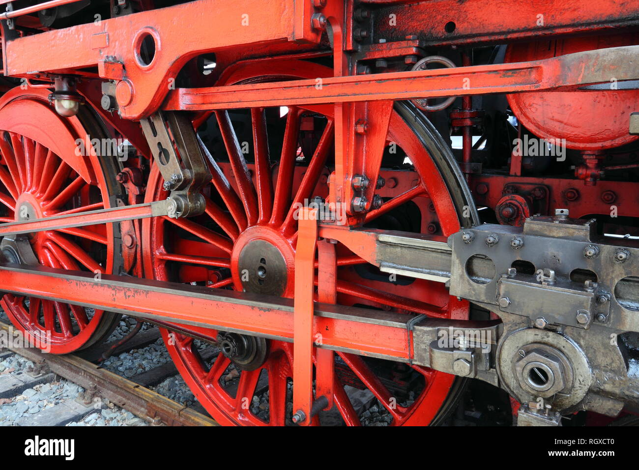 Steamer wheel Stock Photo