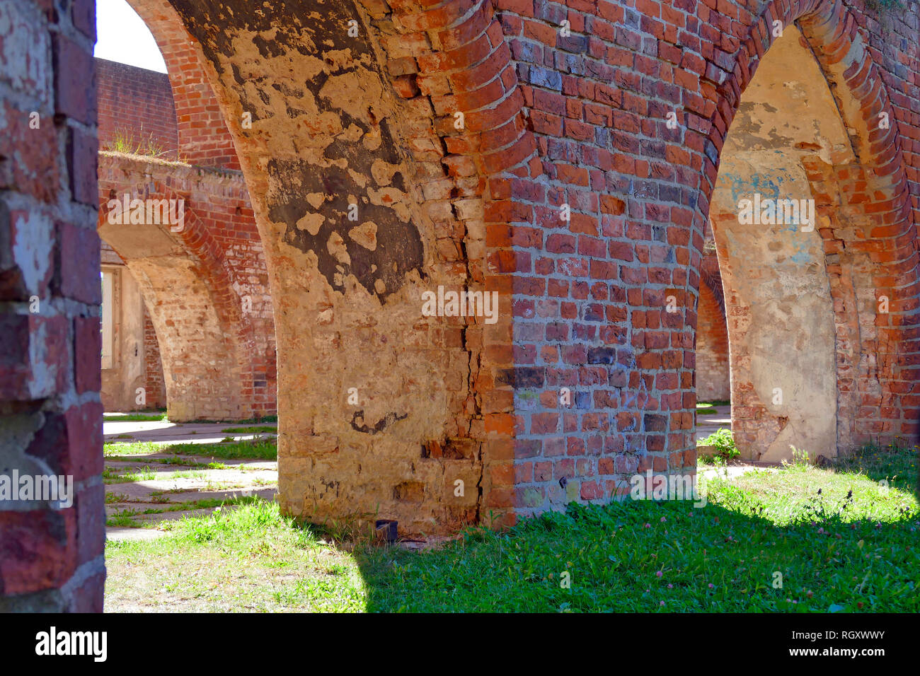 Ruin, monastery, Bad Doberan Landkreis Rostock, Germany, Europe - Stock Image