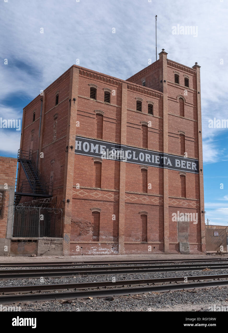 Southwestern Brewery and Ice Company: Home of Glorieta Beer - Stock Image