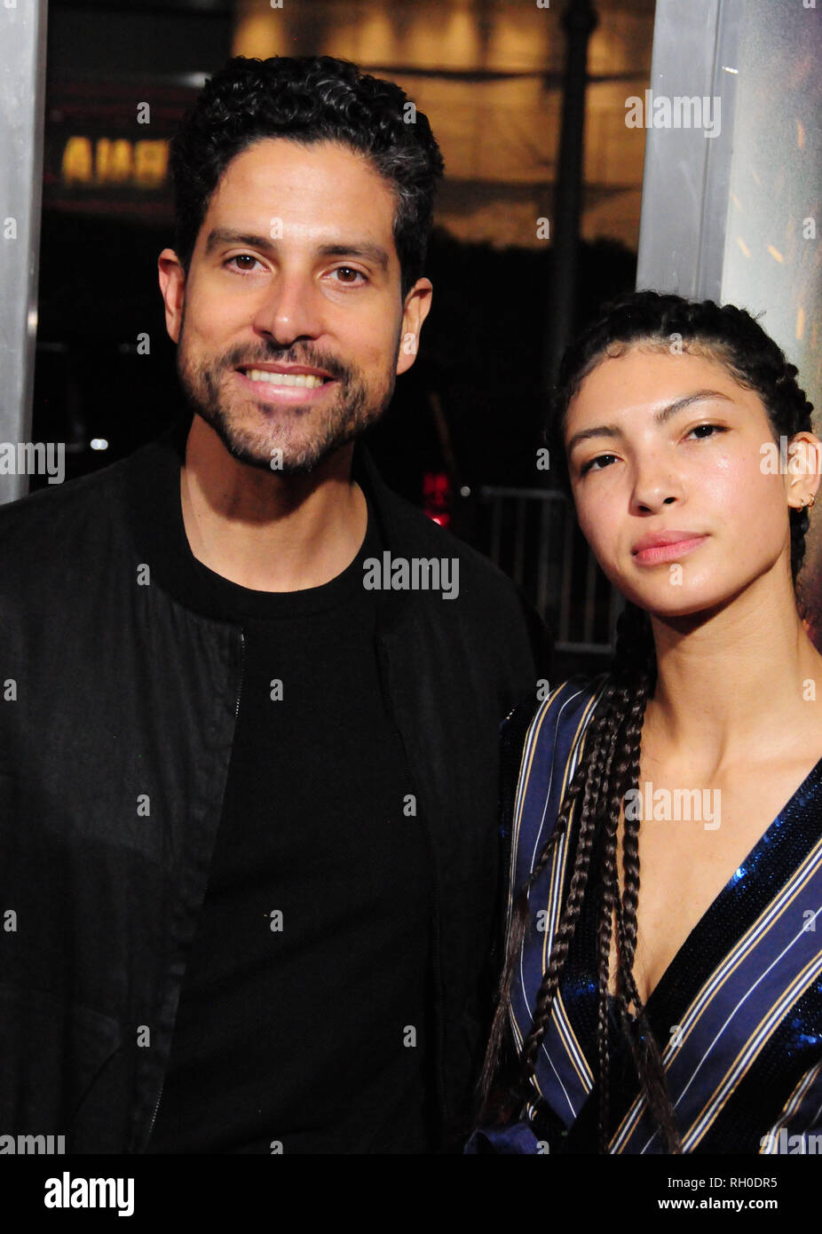 Adam Rodriguez And Wife Stock Photos & Adam Rodriguez And Wife Stock