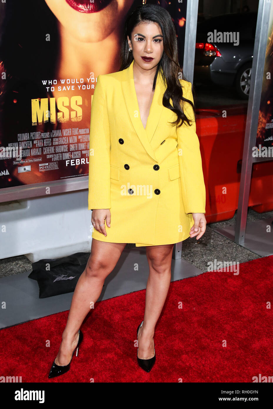 Los Angeles, California, USA. 30th January, 2019. Actress Chrissie Fit arrives at the Los Angeles Premiere Of Columbia Pictures' 'Miss Bala' held at Regal Cinemas L.A. Live Stadium 14 on January 30, 2019 in Los Angeles, California, United States. (Photo by Xavier Collin/Image Press Agency) Credit: Image Press Agency/Alamy Live News Stock Photo