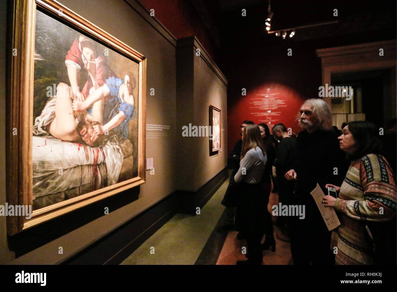 Artemisia Gentileschi Judith Stock Photos Artemisia