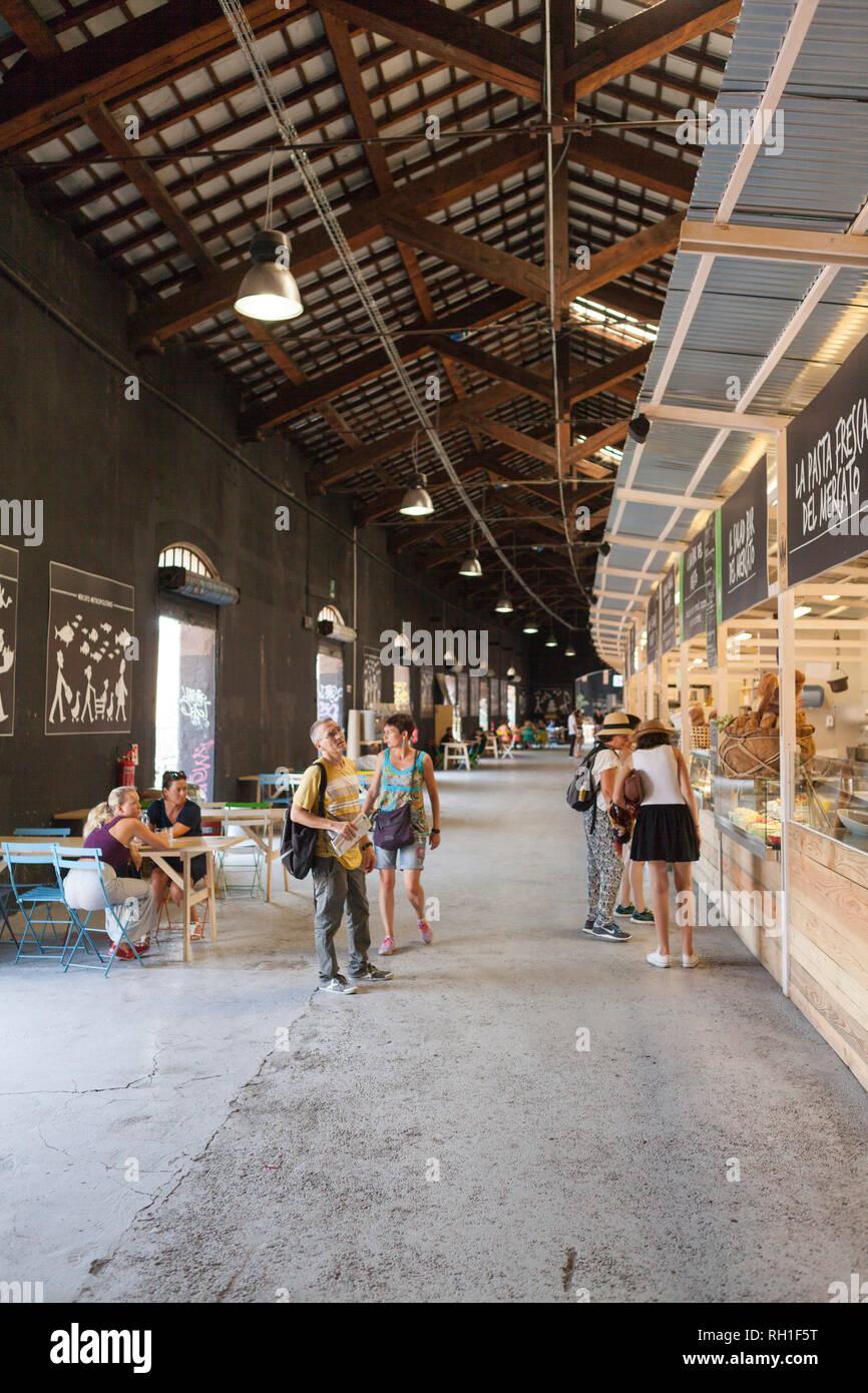 mercato metropolitano, milan, italy - Stock Image