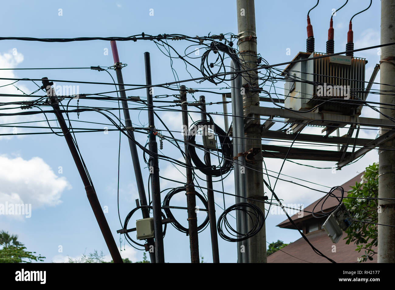 Loose Wiring Stock Photos & Loose Wiring Stock Images - Alamy on