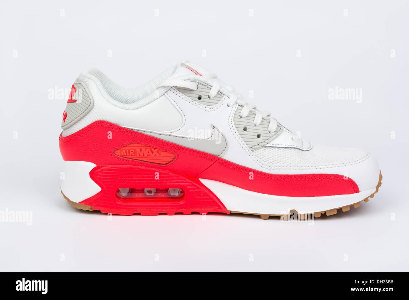 premium selection 5e760 f9ea9 BURGAS, BULGARIA - AUGUST 30, 2016  Nike Air MAX women s shoes - sneakers