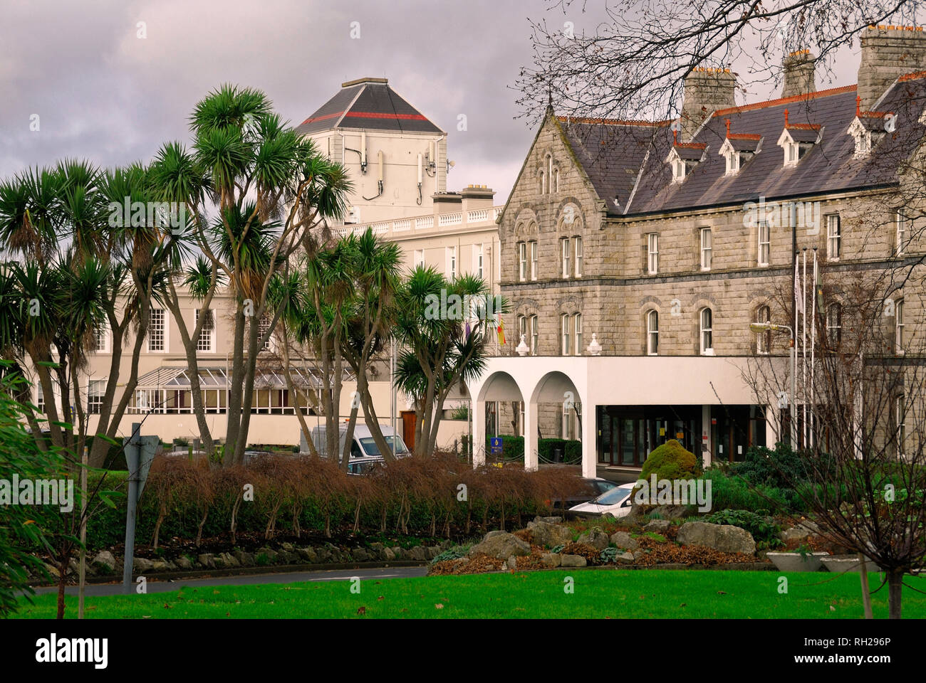 Saint John Of God Hospital,Dublin, Ireland. The mission is to bring healing, care and wholeness to people who have mental or psychological problems. - Stock Image