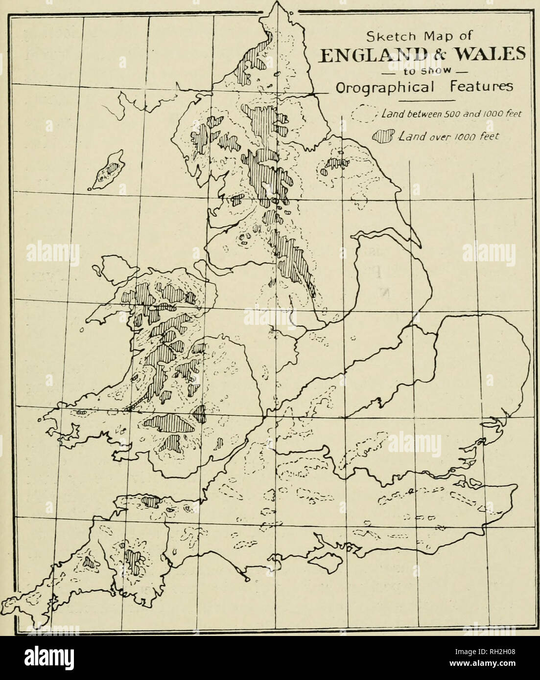 Map Of England Please.British Birds Birds 5 Sketch Map Of England D Wai Es To Show