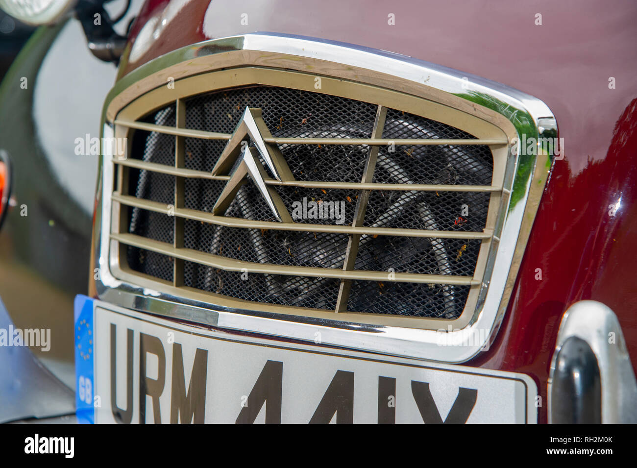 1980 Citroen 2CV Charleston classic French car - Stock Image