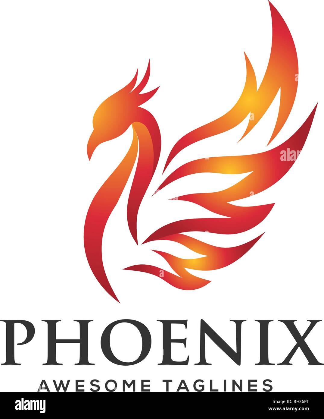 Outstanding Luxury Phoenix Logo Concept Best Phoenix Bird Logo Design Interior Design Ideas Inesswwsoteloinfo