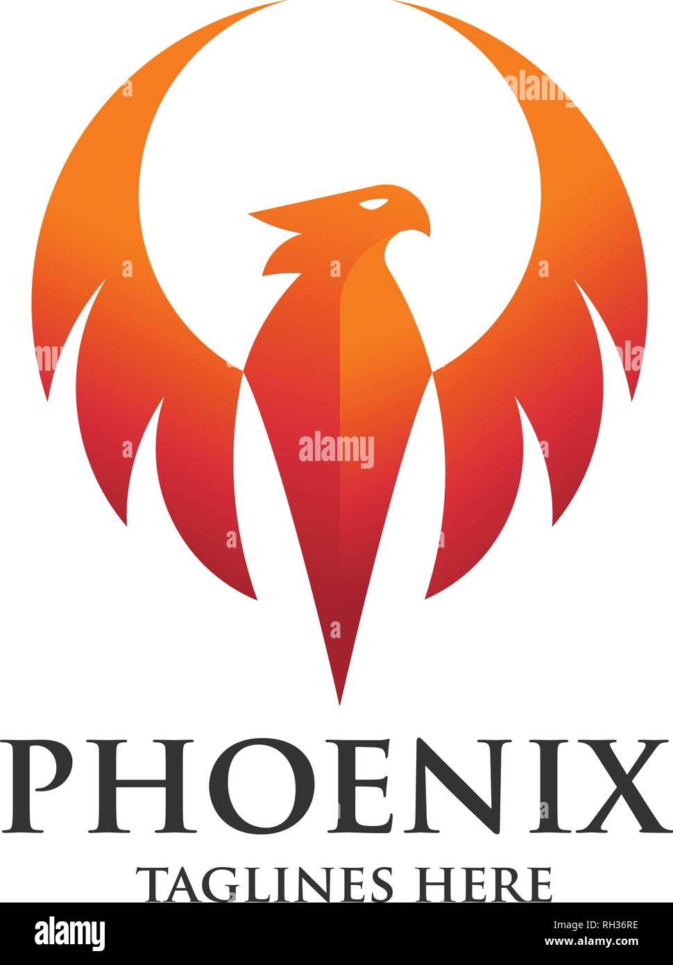 Excellent Luxury Phoenix Logo Concept Best Phoenix Bird Logo Design Interior Design Ideas Inesswwsoteloinfo