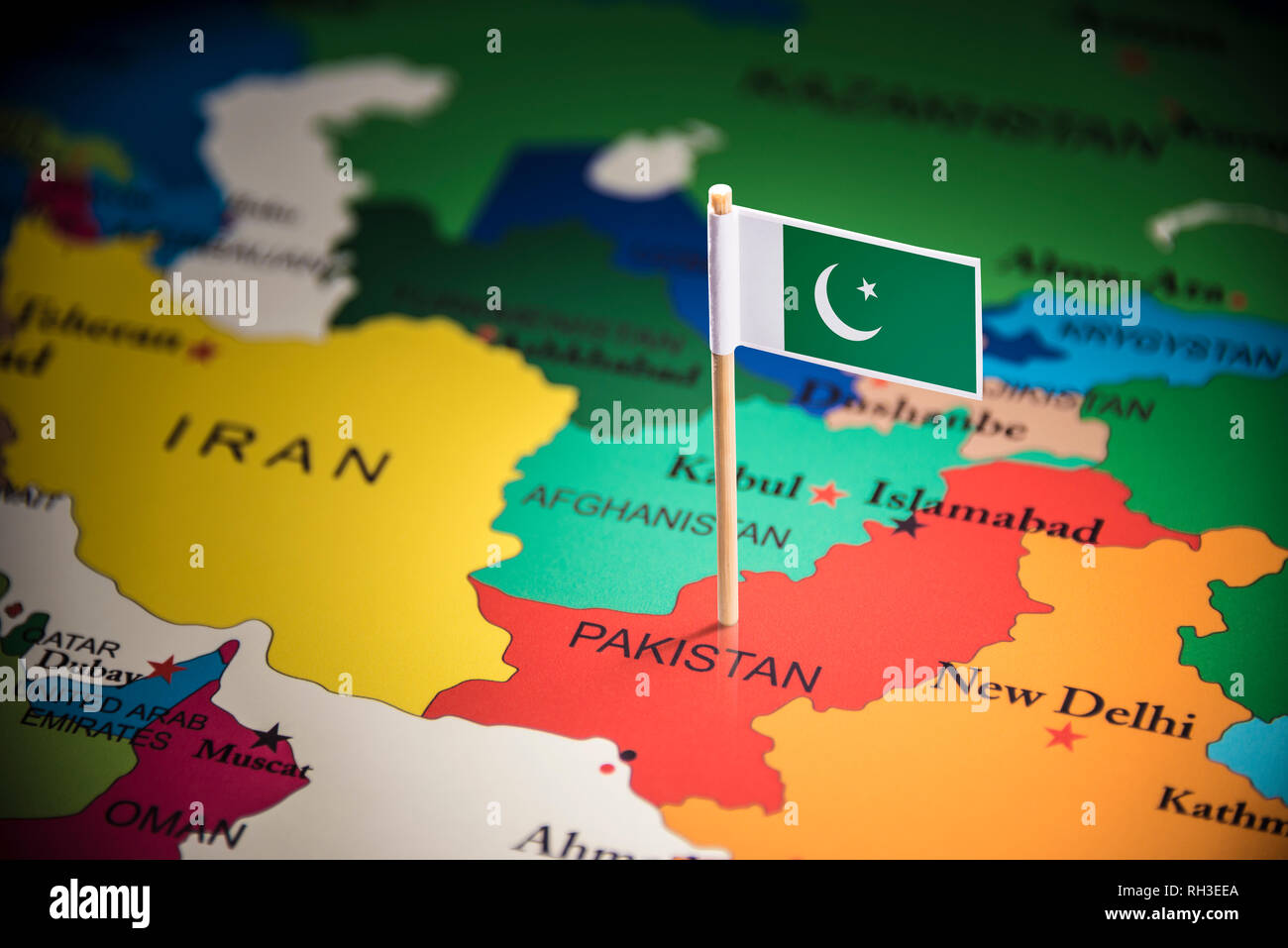 Official Flag Of Pakistan Stock Photos & Official Flag Of