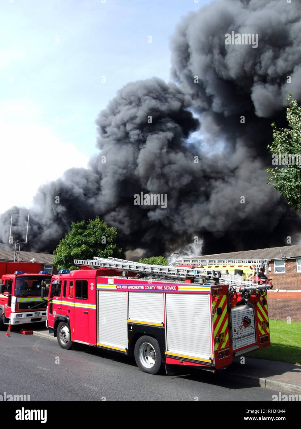 thick black smoke stock  thick black smoke stock images alamy