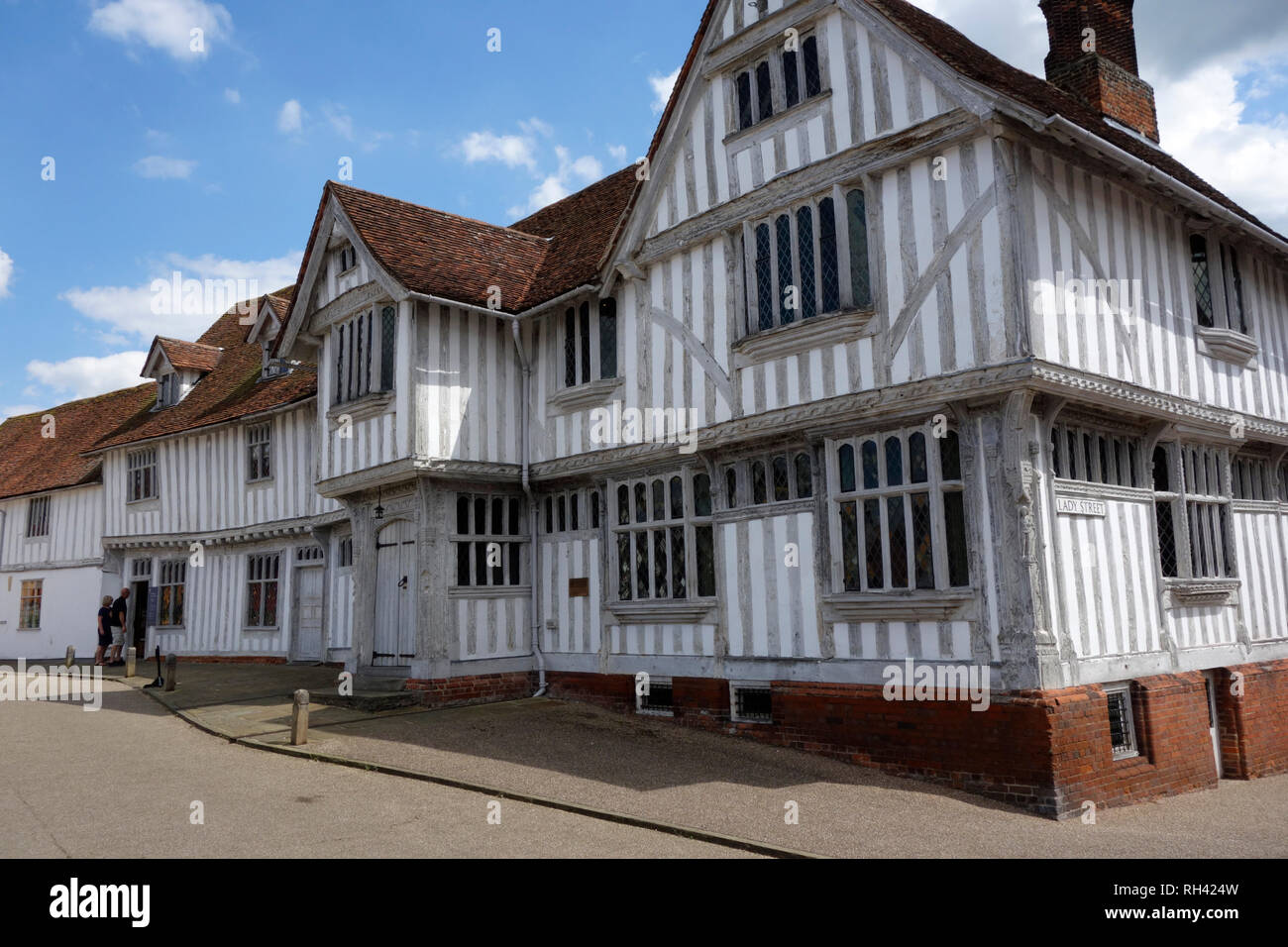 Lavenham Guildhall, Suffolk - Stock Image