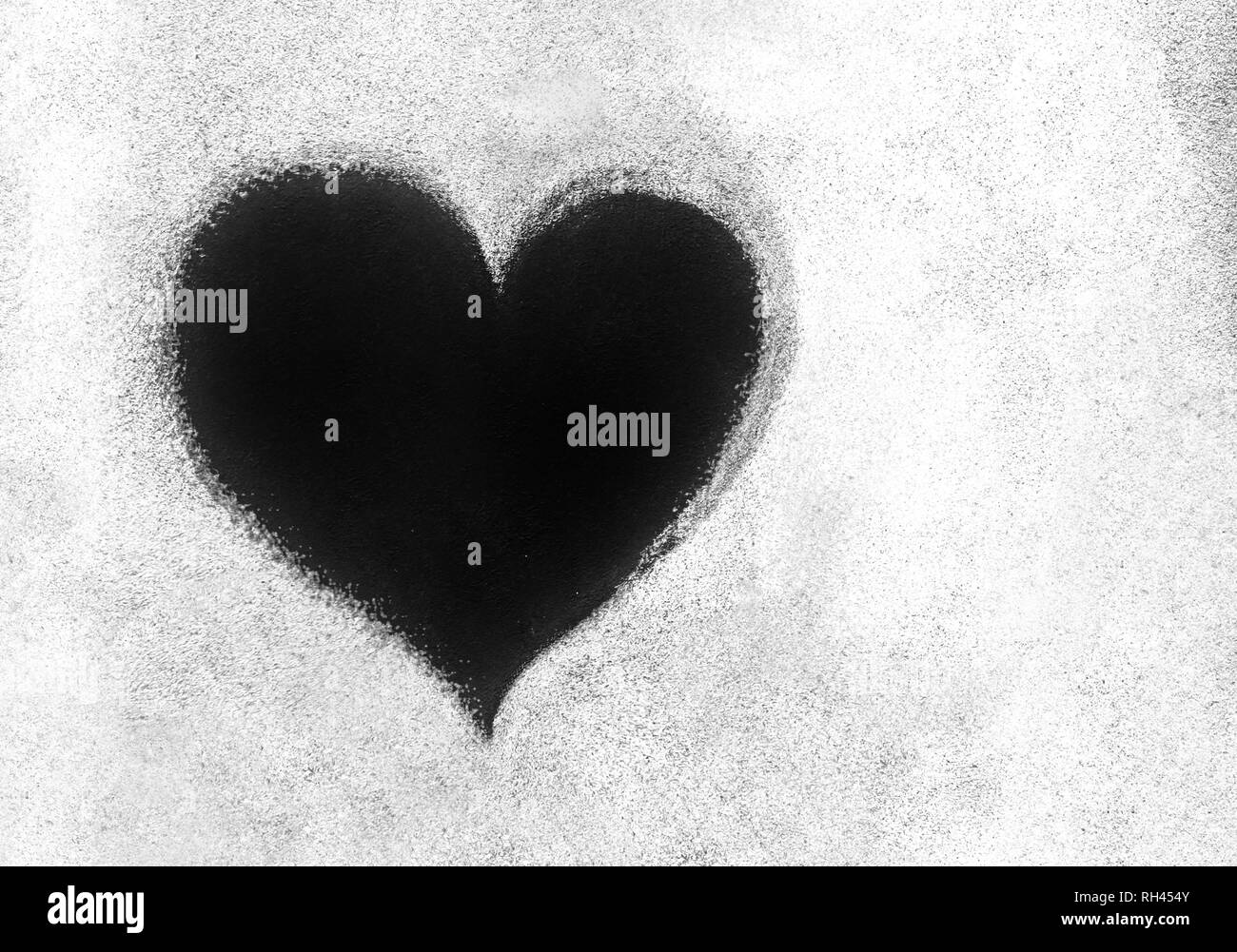 grunge texture with black heart symbol it can be used as a valentines theme poster wallpaper design t shirts and more RH454Y