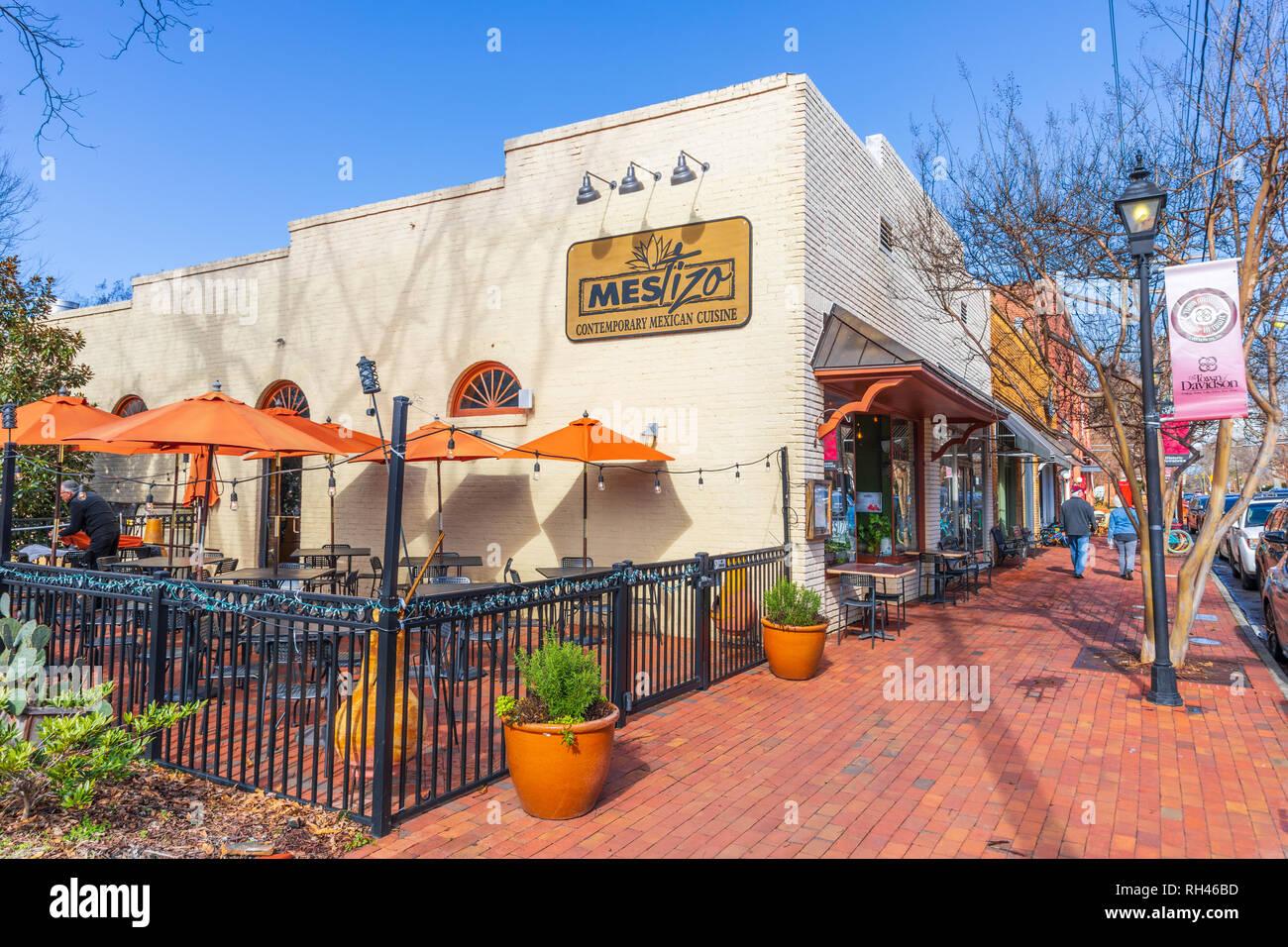 Davidson Nc Usa 1 24 19 The Mestizo Restaurant Featuring