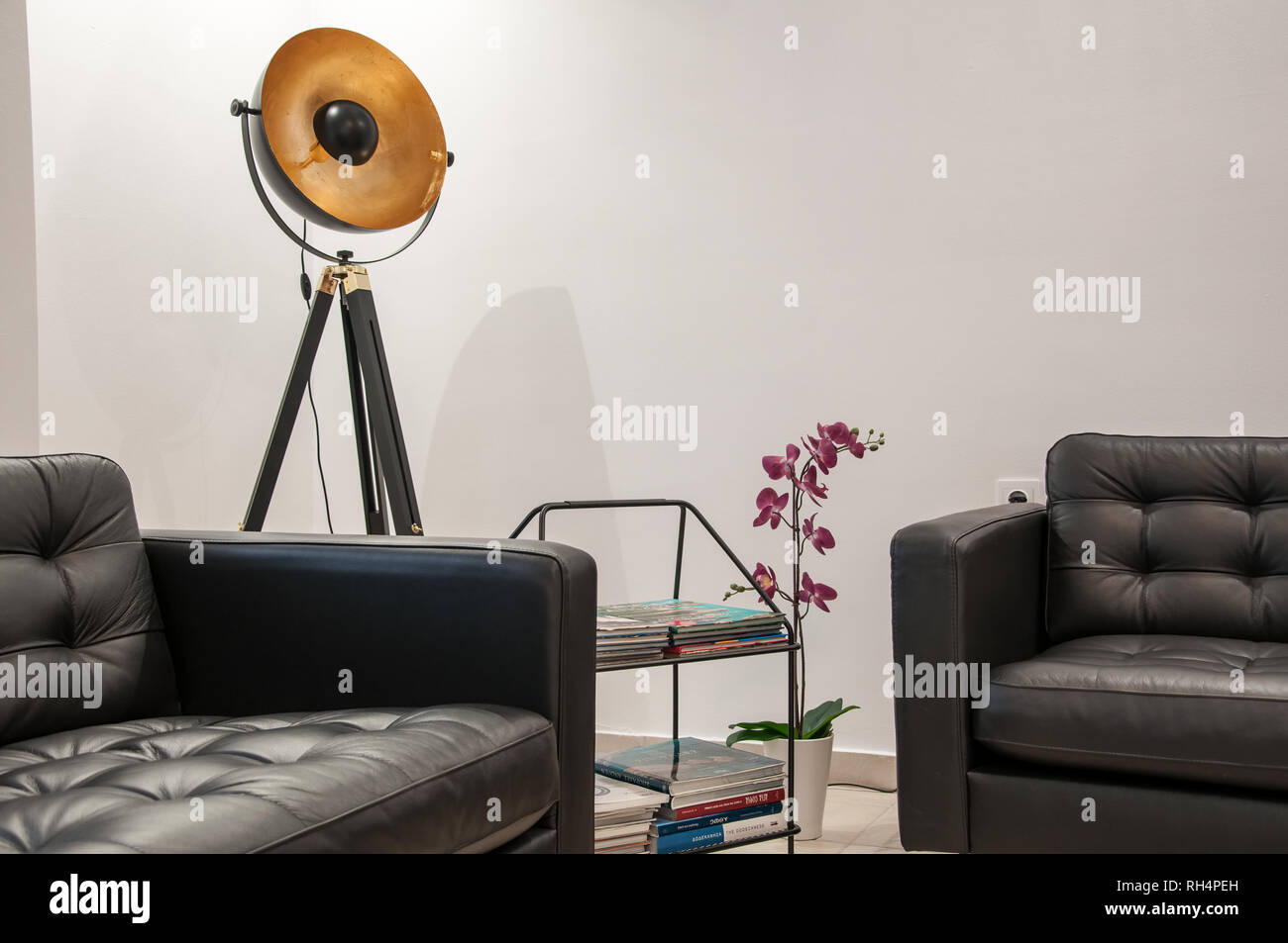 Office waiting room - Stock Image