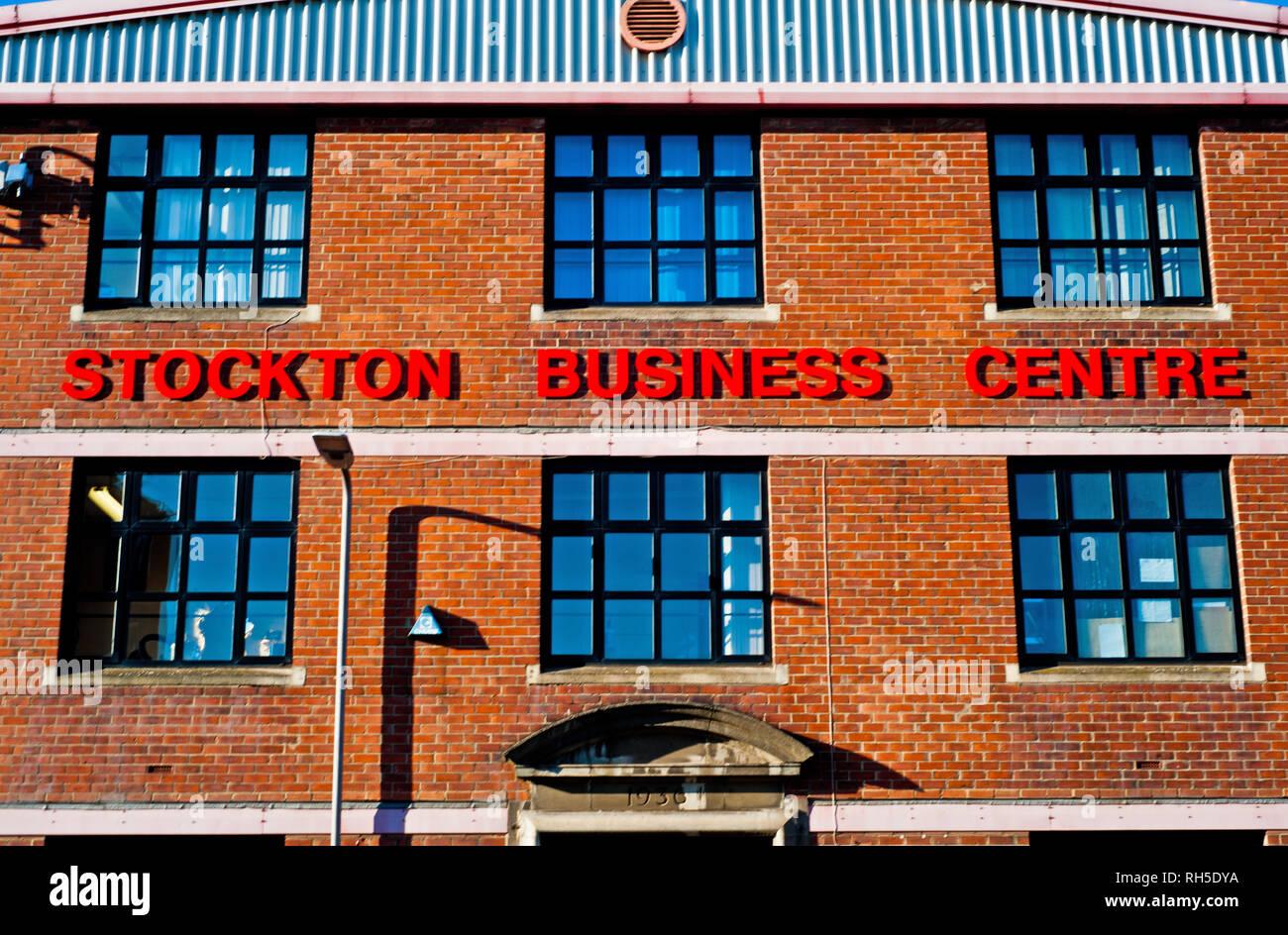 Stockton Buisness Centre, Brunswick Street, Stockton on Tees, Cleveland, England - Stock Image
