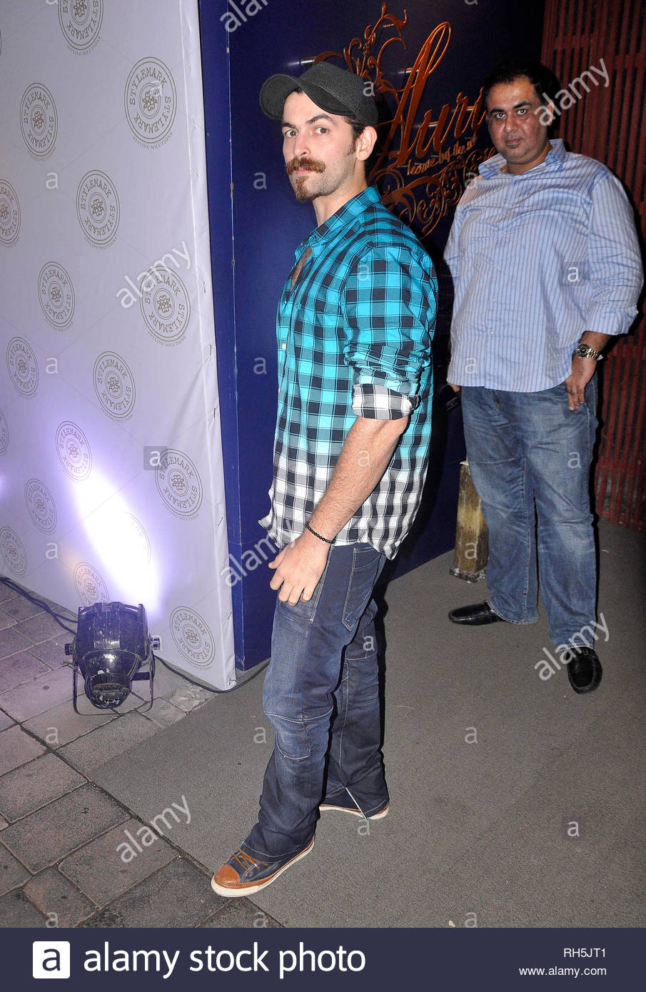 Bollywood actor Neil Nitin Mukesh arrives for the party hosted for Chris Bosh (NBA player, Miami Heat) in Mumbai, India on July 17, 2013. (Deven Lad) - Stock Image