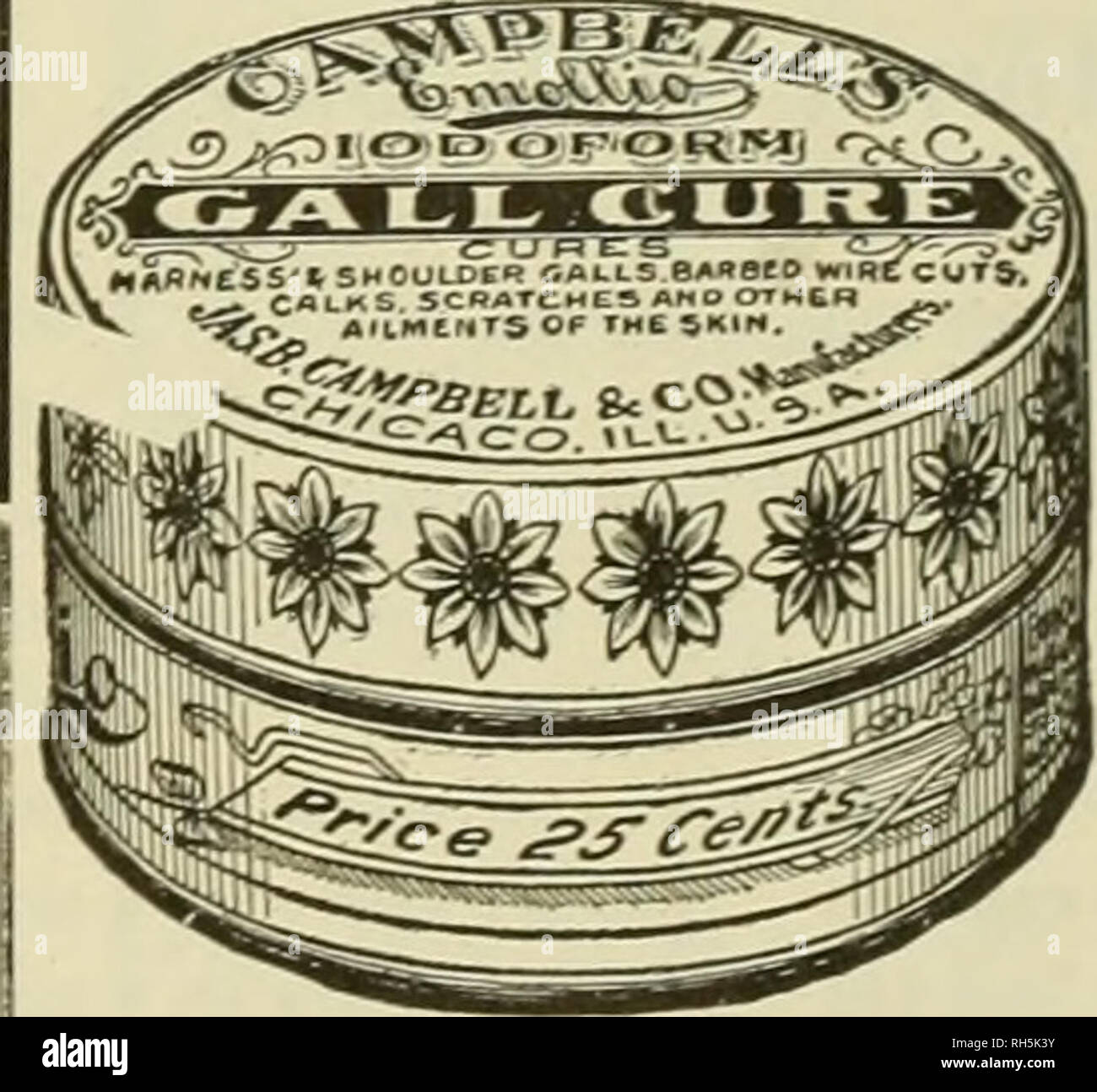 Breeder and sportsman  Horses  CAMPBELL'S ' a Century GALL CURE