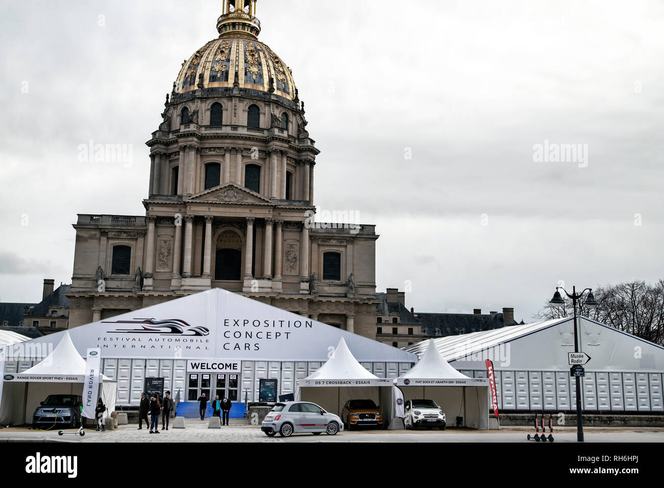 Paris, France. 31st Jan, 2019. The International Automobile Festival brings together in Paris the most beautiful concept cars made by car manufacturers, from January 30th to February 31st, 2019. Credit: Bernard Menigault/Alamy Live News - Stock Image