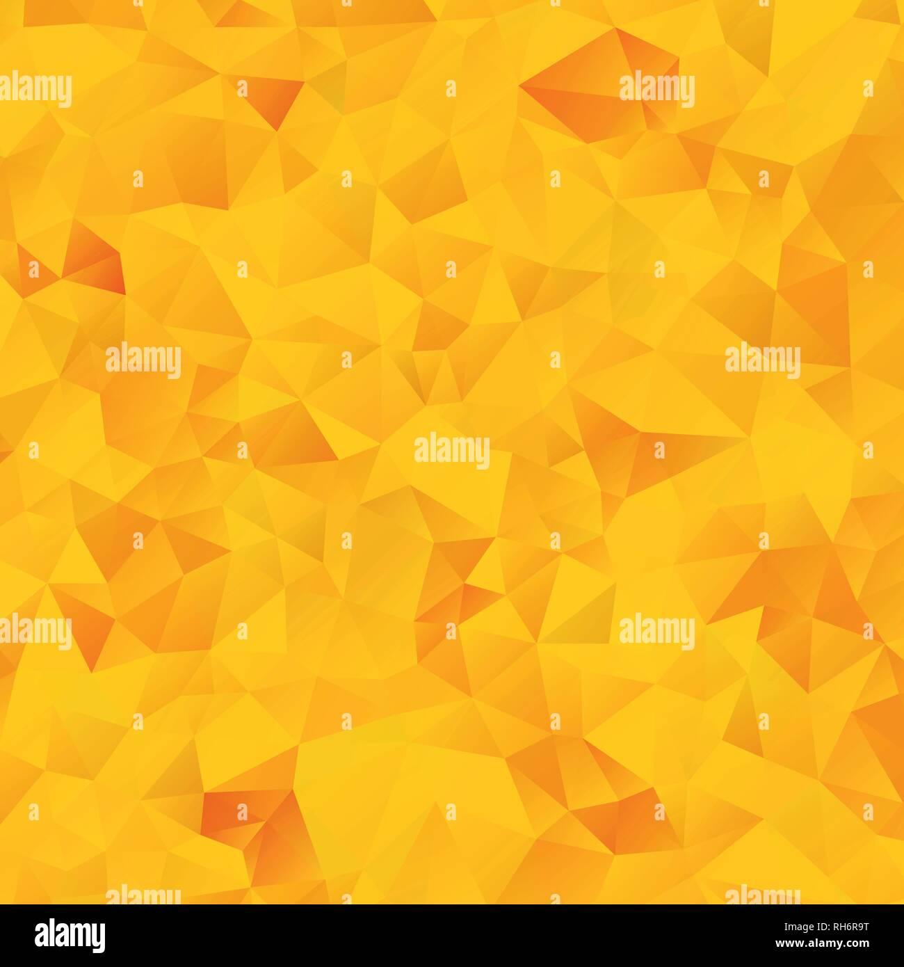 Vector Abstract Orange Yellow Geometric Gradient