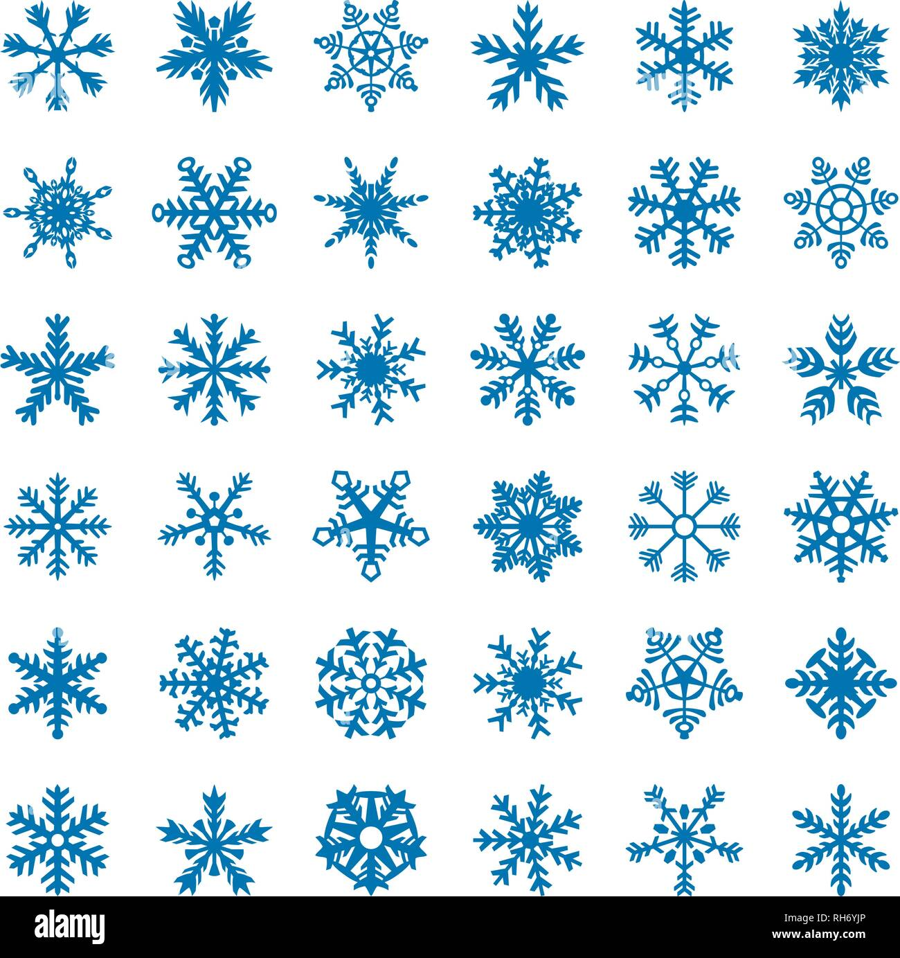 snowflake vector icon background set blue color winter white christmas snow flake crystal element weather illustration ice collection stock vector image art alamy https www alamy com snowflake vector icon background set blue color winter white christmas snow flake crystal element weather illustration ice collection image234337342 html