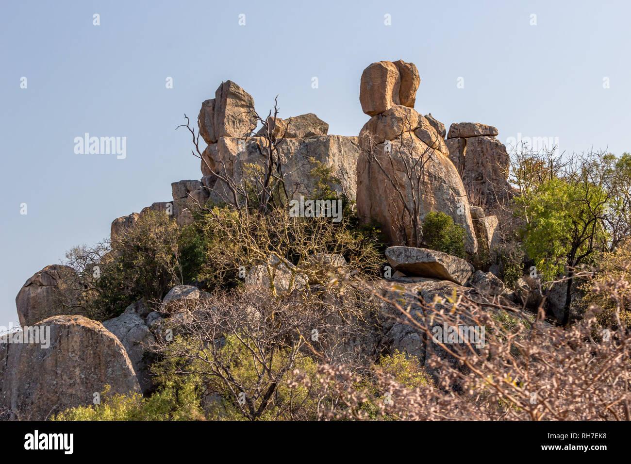 Matopos, Zimbabwe - Stock Image