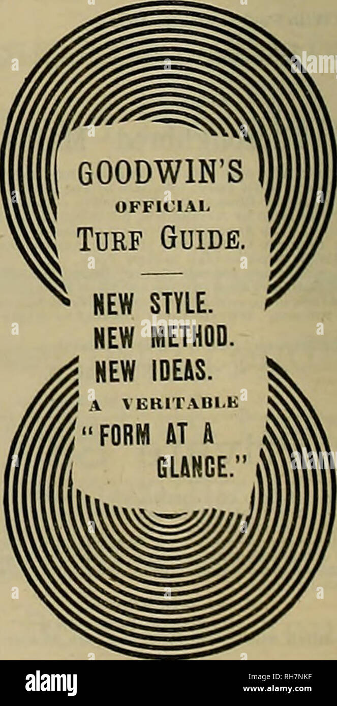 """. Breeder and sportsman. Horses. GET ONE FROM YOUR NEWSDEALER. IT'S IMMENSE! VOl II. BE DELIGHTED! From No. 1 to No. «... 50 cents per copy From No. 7 toend 76 """" """" OR SUBSCRIBE TO IT FOR THIS I HAH. It Is puhllshed semi-monthly during the racing season mi, Is but 010 per year. Address GOODWIN BROS., 241 Broadway, New York City.. Please note that these images are extracted from scanned page images that may have been digitally enhanced for readability - coloration and appearance of these illustrations may not perfectly resemble the original work.. San Francisco, Calif. : [s. n. ] Stock Photo"""