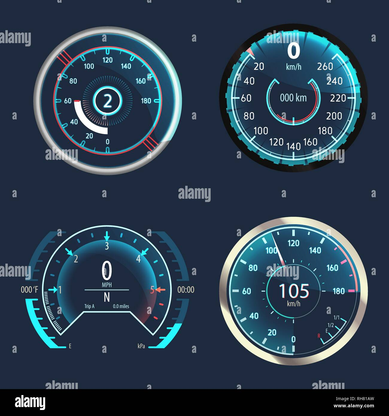 Odometer Stock Photos & Odometer Stock Images - Alamy