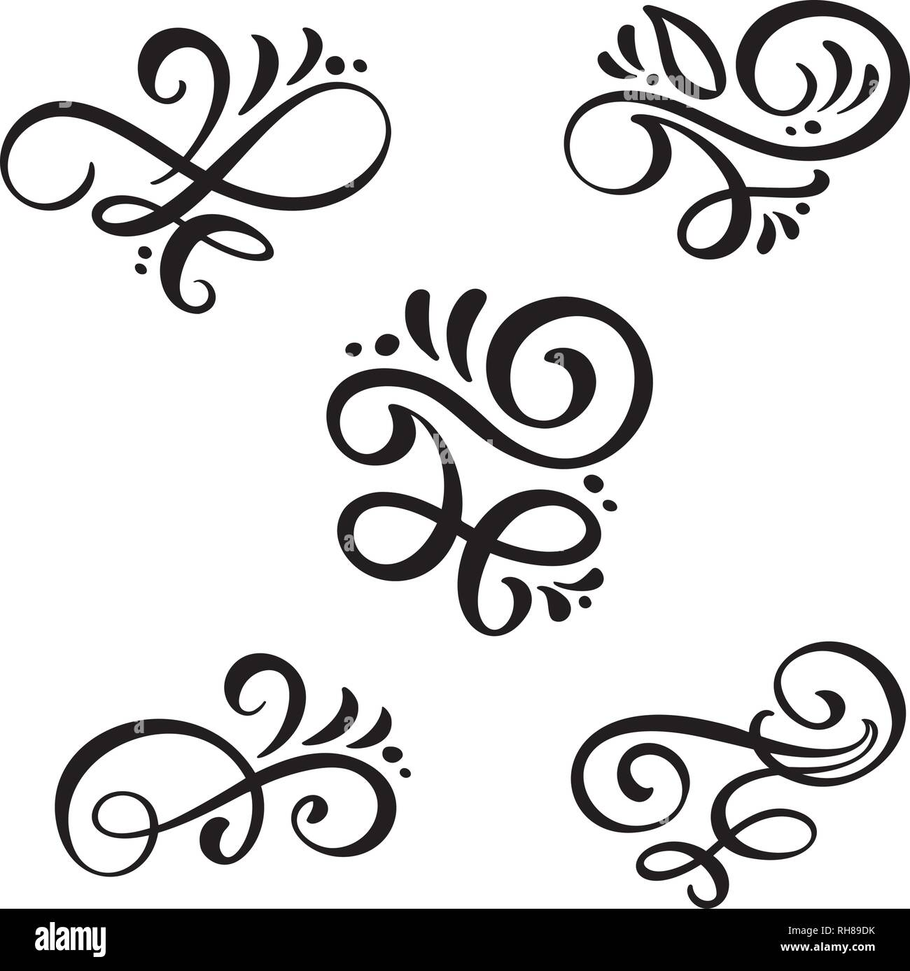 set of vector vintage line elegant dividers and separators swirl and corner decorative ornaments floral line filigree design elements flourish curl stock vector image art alamy https www alamy com set of vector vintage line elegant dividers and separators swirl and corner decorative ornaments floral line filigree design elements flourish curl image234366991 html
