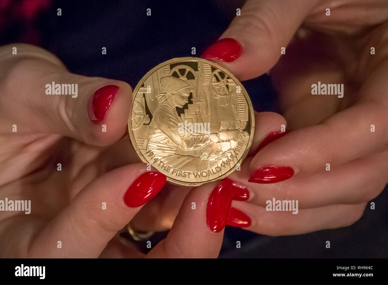 London, UK. 29th Jan, 2019. The Trial of the Pyx at Goldsmiths Hall. Credit: Guy Corbishley/Alamy Live News - Stock Image