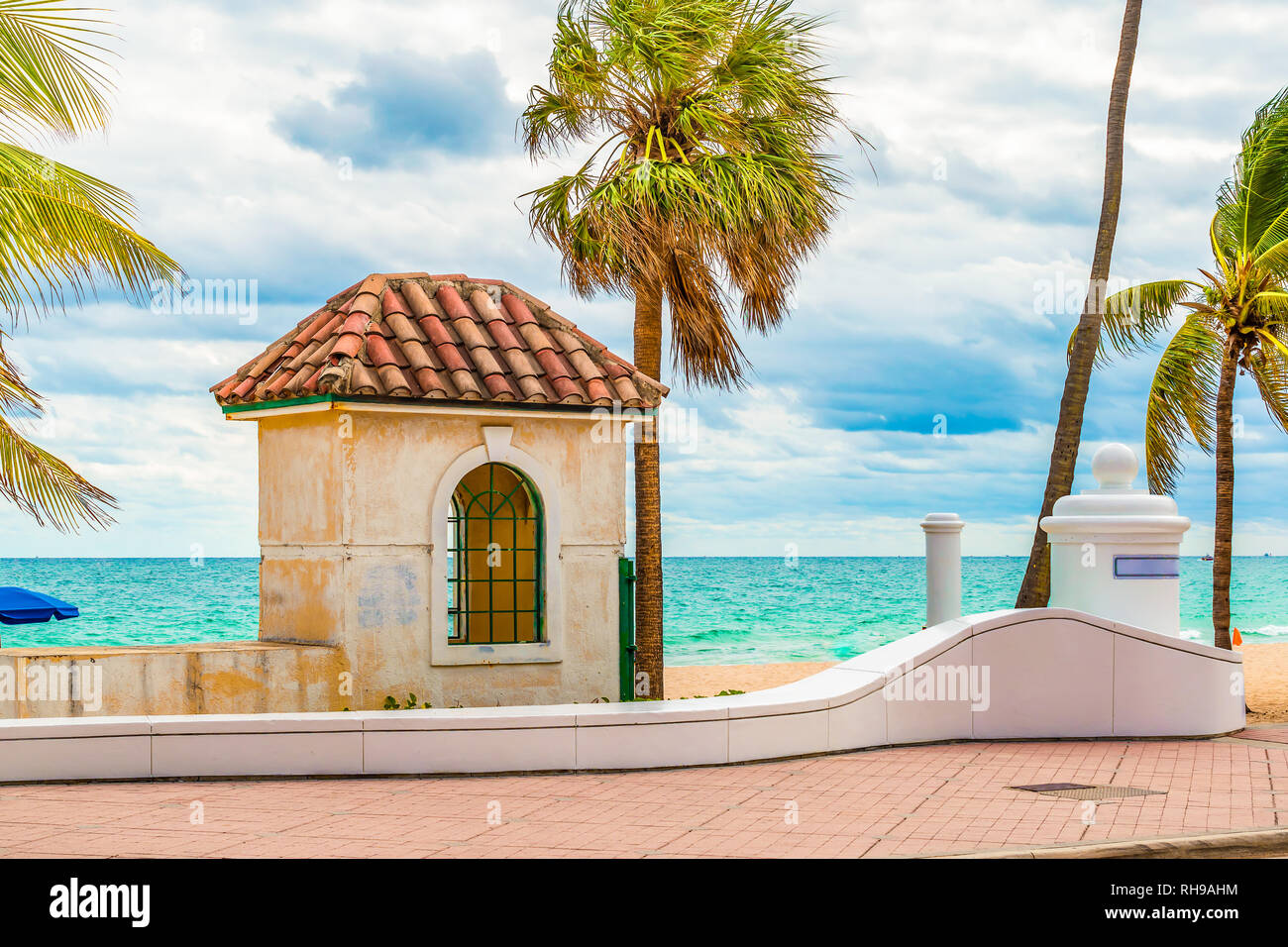 Fort Lauderdale beach, Florida Stock Photo