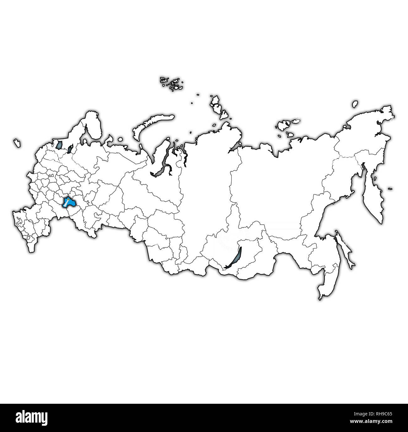 Administrative divisions of Ulyanovsk Oblast
