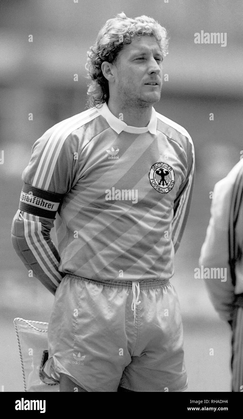 HARALD SCHUMACHER, WEST GERMANY, , 1985 - Stock Image