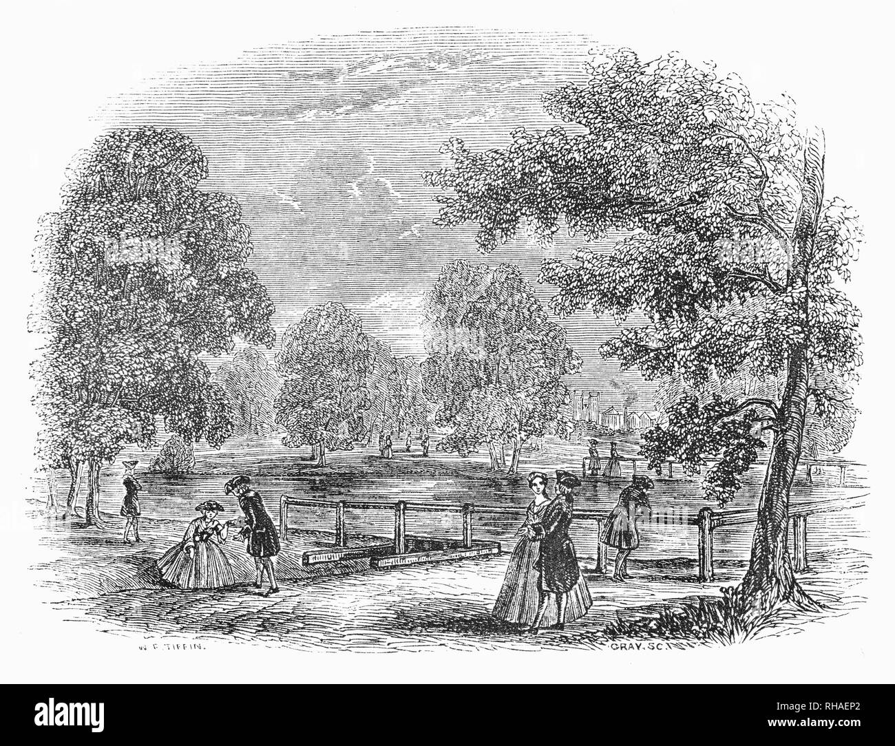 St James Park Black and White Stock Photos & Images - Alamy