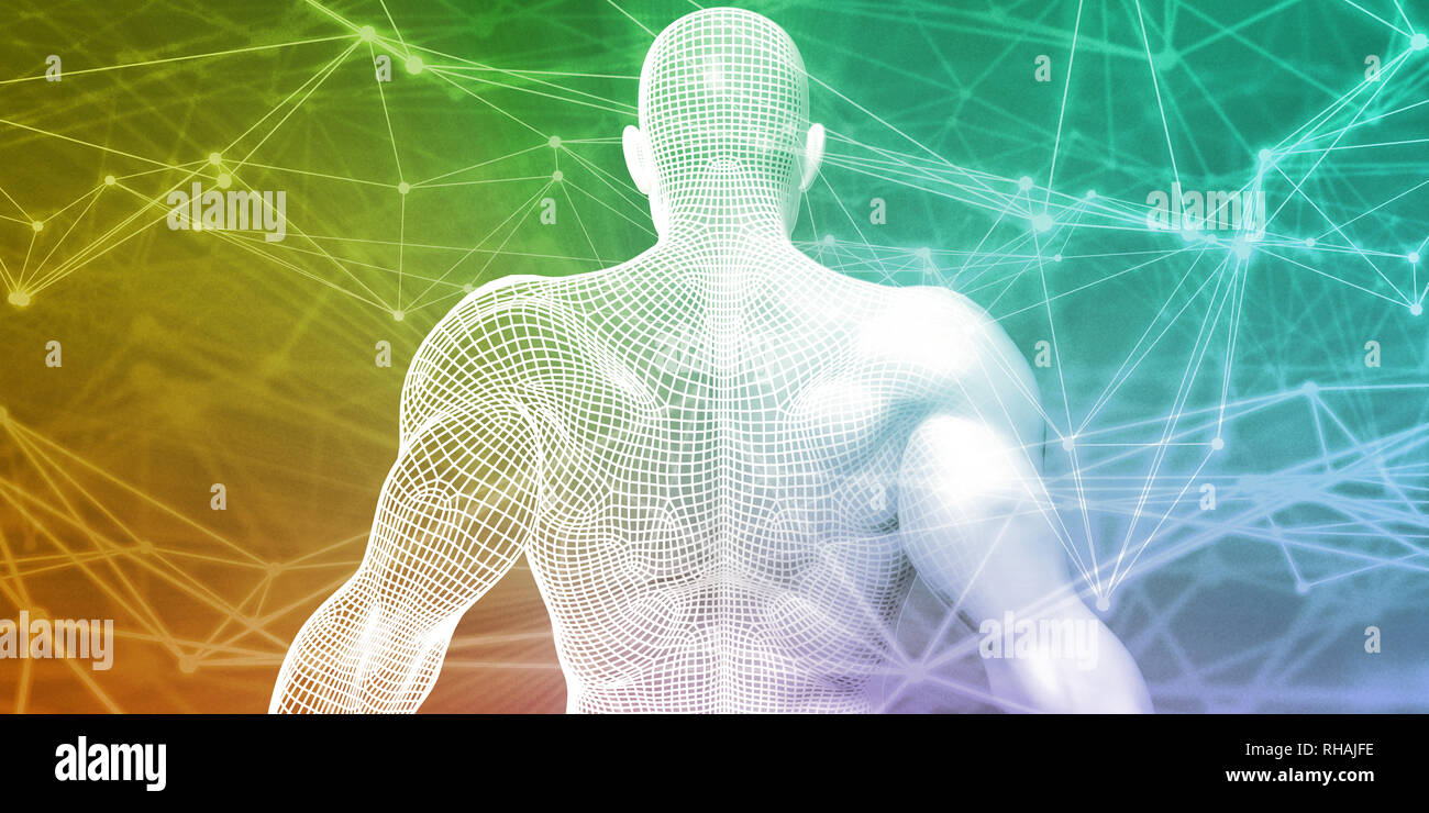 Biomedical Science as Biomedicine Research and Development - Stock Image