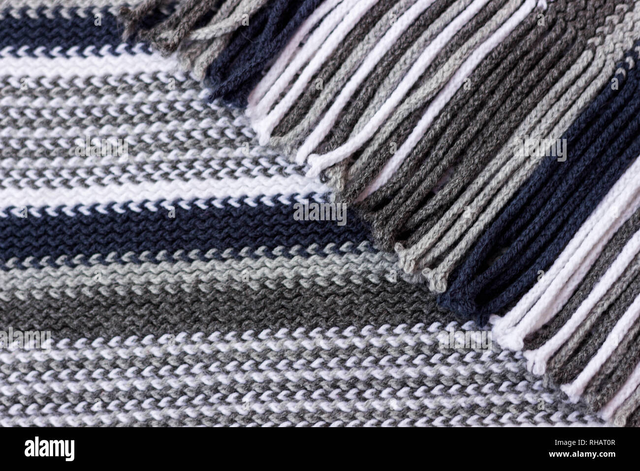 2e663d37da8872 Small and dense knitted texture knitting threads of blue shades. Fine knitting  texture. -