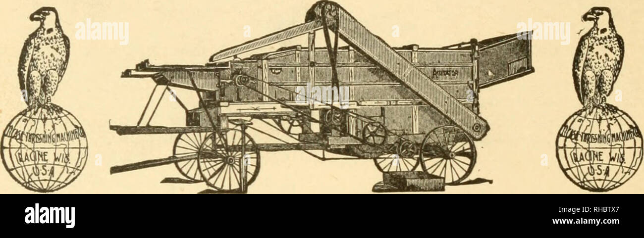 . A book on silage. Silage. us FOR CATALOGUE AND FULL PARTICULARS OF THE Celebrated Agitator Separators. NETHERY WIND STACKERS, WOODBURY SWEEP POWERS, AUTOMATIC SWINGING STACKERS, SELF-FEEDERS, MEASURERS, TREAD POWERS AND SAW FRAMES, SAW MILL MACHINERY, AND TRACTION AND PORTABLE SINGLE CYLINDER COMPOUND Engines J. I. CASE THRESHING MACHINE CO., RACINE, WIS.. Please note that these images are extracted from scanned page images that may have been digitally enhanced for readability - coloration and appearance of these illustrations may not perfectly resemble the original work.. Woll, Fritz Wilhel - Stock Image