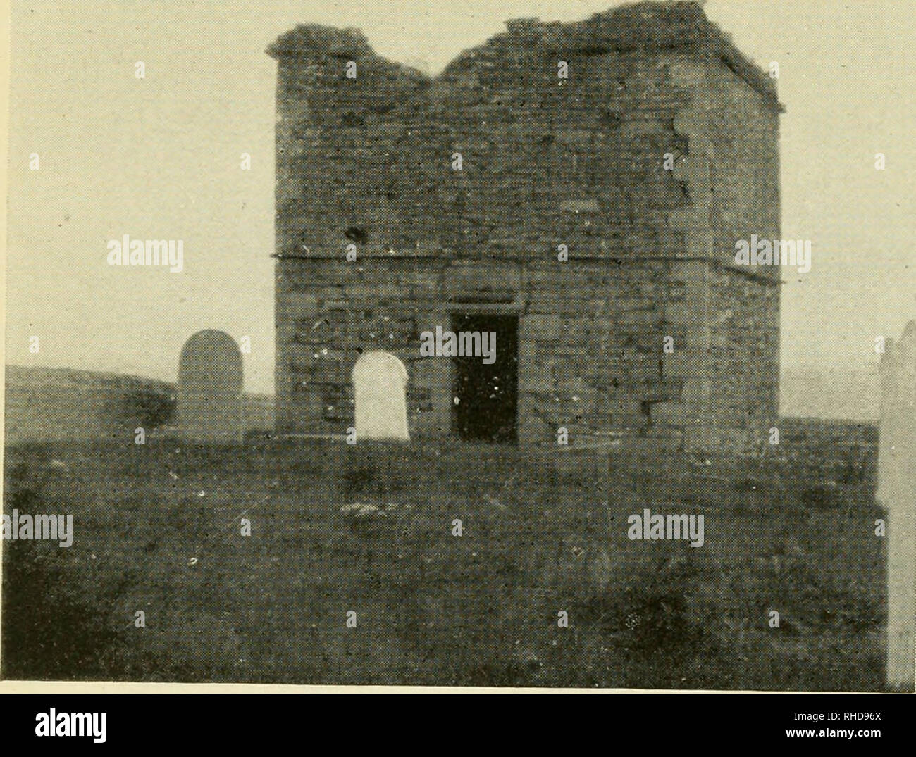 . A book of dovecotes. Dovecotes. STROMA ISLAND, CAITHNESS. Please note that these images are extracted from scanned page images that may have been digitally enhanced for readability - coloration and appearance of these illustrations may not perfectly resemble the original work.. Cooke, Arthur O. (Arthur Owens), 1867-1930. London, Boston [etc. ] T. N. Foulis - Stock Image