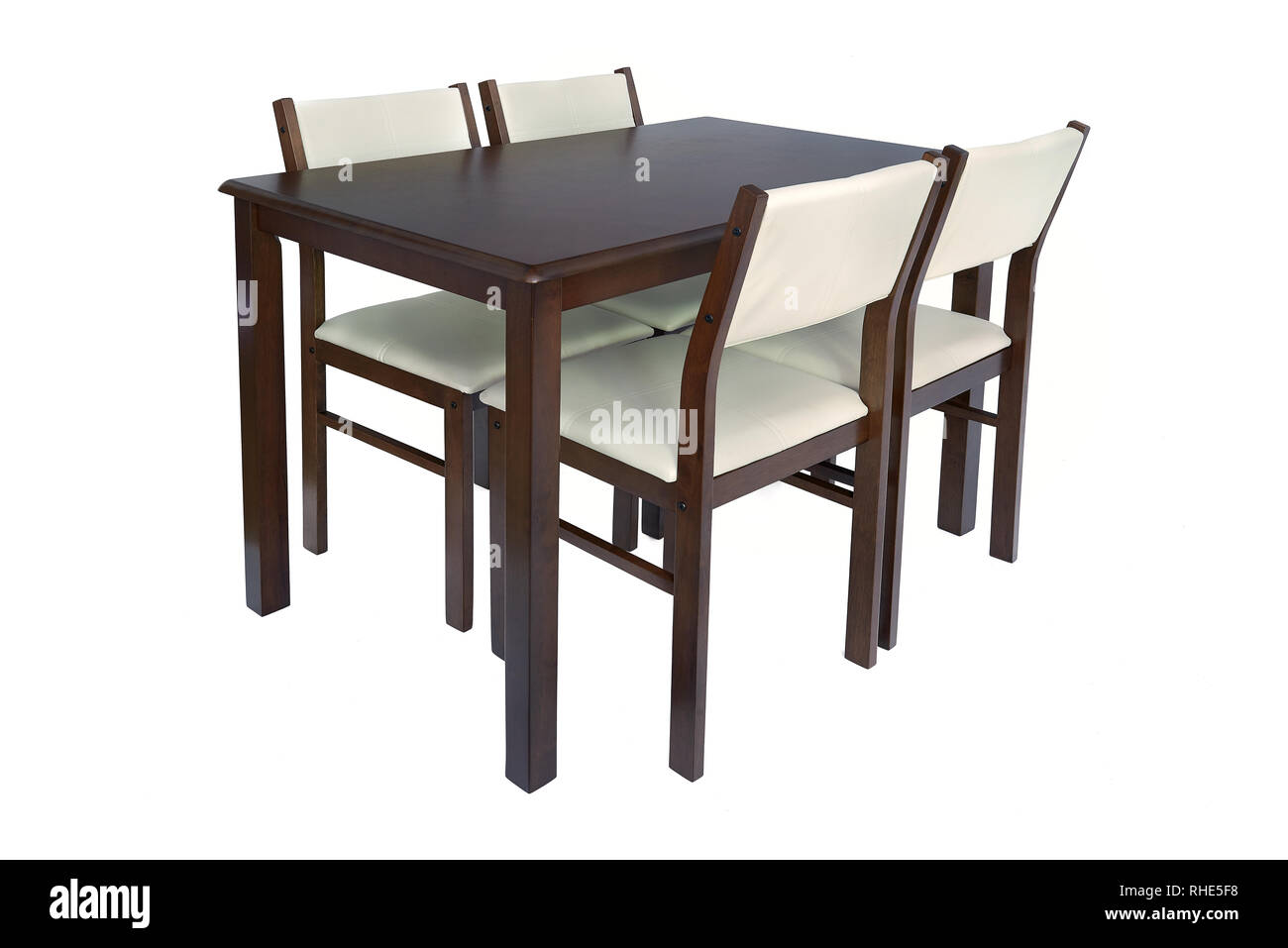 Dining Room Furniture Set Of Table And Four Chairs Elegant