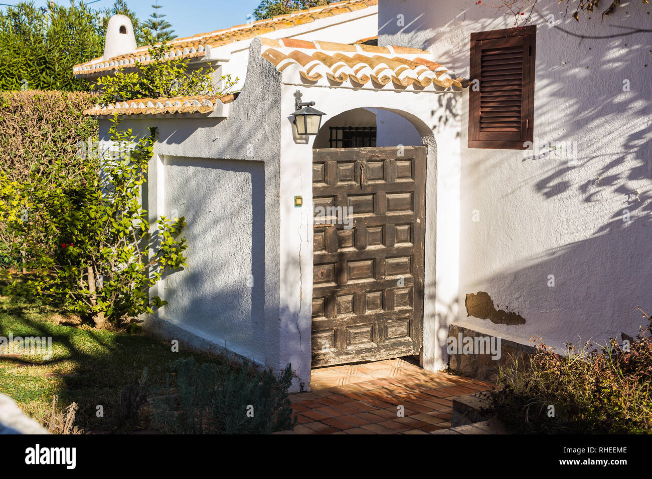 Design Architecture And Building Concept The Entrance Gate Of The House Stock Photo Alamy