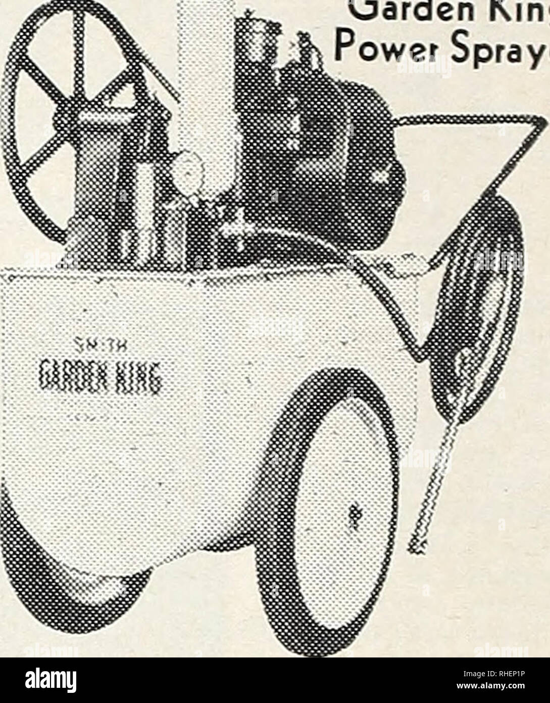 """. Bolgiano's capitol city seeds : 1960. Nurseries (Horticulture) Catalogs; Bulbs (Plants) Catalogs; Vegetables Catalogs; Garden tools Catalogs; Seeds Catalogs. Model H766. (As illustrated) $9 95 Model H737 6 95 Model H754 3 95 Green Spot Sprinkler Aids H-344 Gooseneck. Allows attachment of hose to faucet without skinning knuckles. Free swiveling action eliminates hose kinks at faucet. 90c. H-333-""""Y"""" Connector. A connection that lets one outlet do the work of two. Two hoses may be attached to a single faucet, allowing two accessories to be operated simultaneously. 85c. Smith Garden Ki - Stock Image"""
