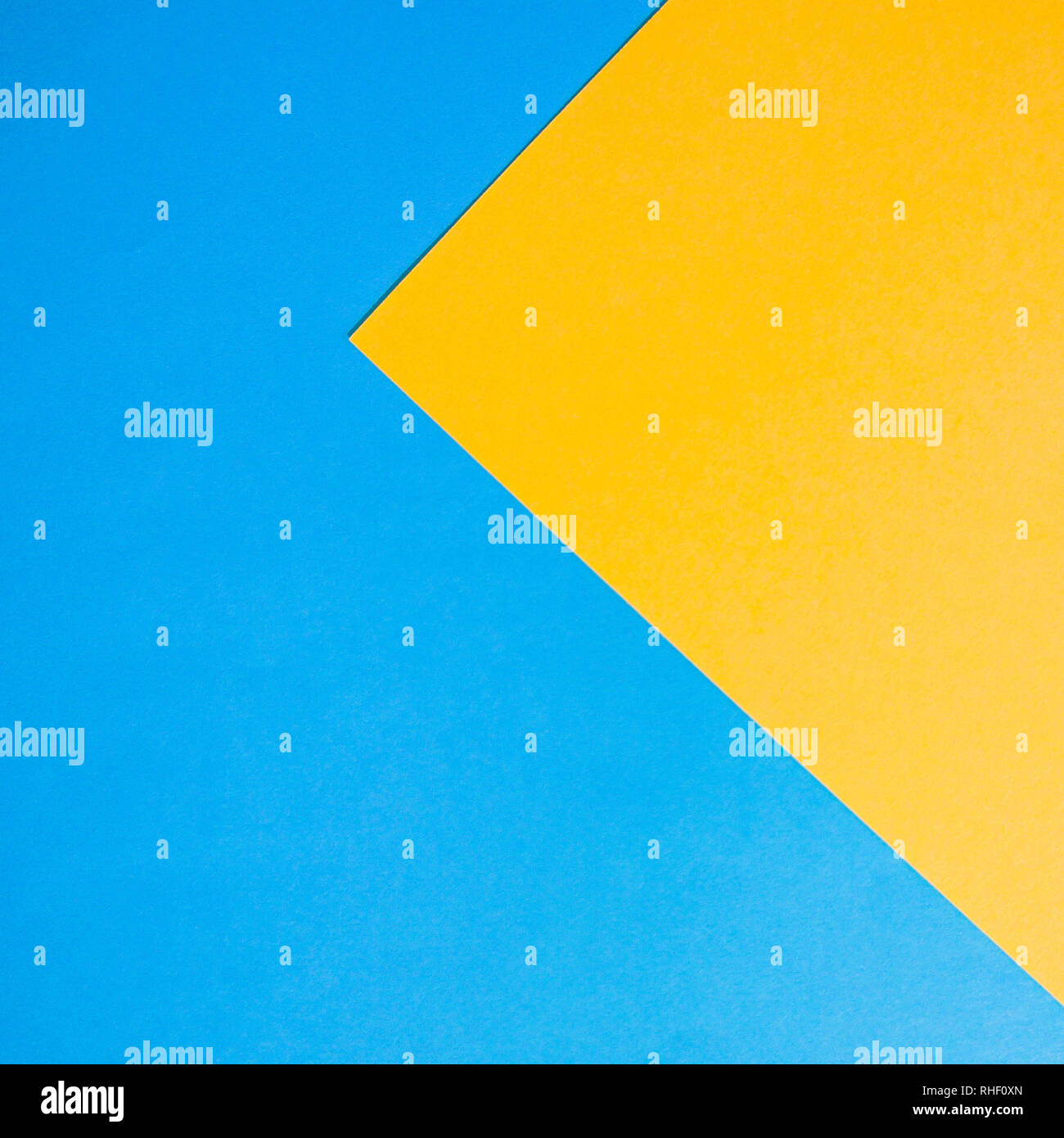 Abstract paper background for design. Blue and yellow. - Stock Image