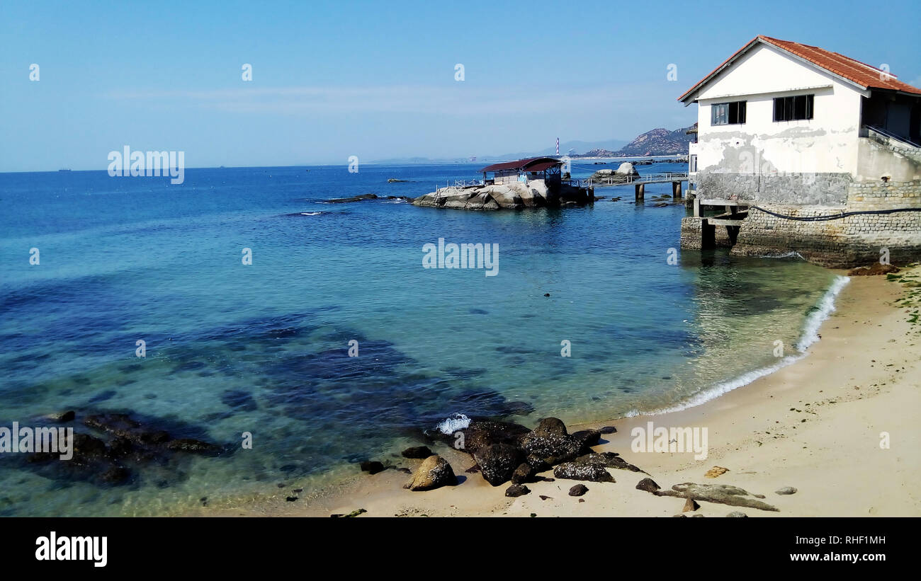 Sea view of the South China Sea. - Stock Image