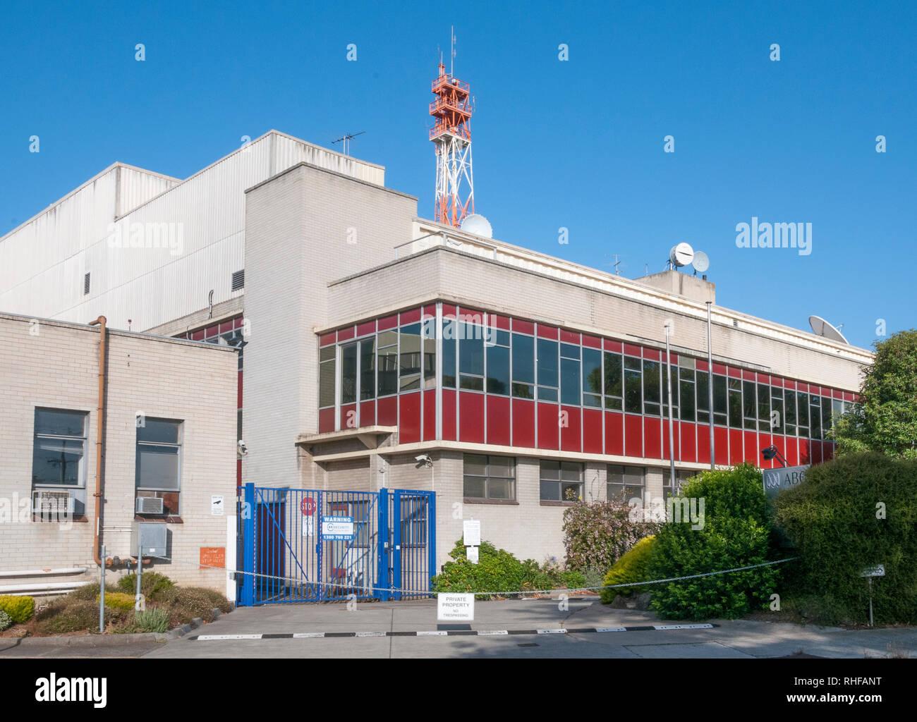 Former Australian Broadcasting Commission studios, Elsternwick, Melbourne Stock Photo