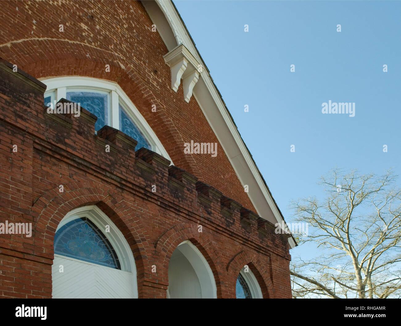 Olde Presbyterian Church, Lancaster South Carolina USA. - Stock Image