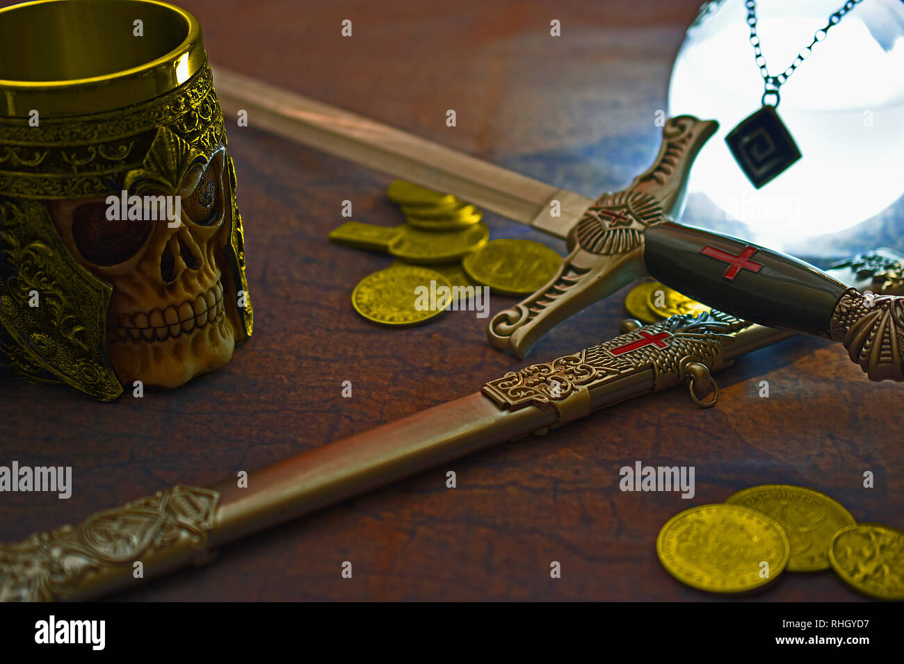 To the Victor go the Spoils - Stock Image