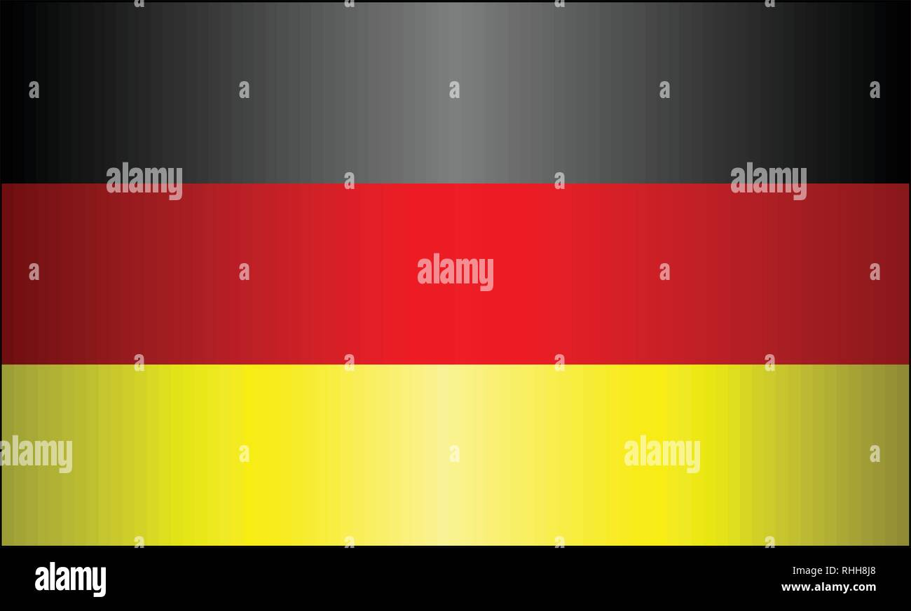 Grunge flag of Germany - Illustration,  Germany vector image - Stock Vector